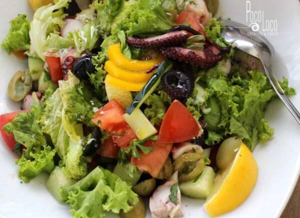 Posna salata od hobotnice