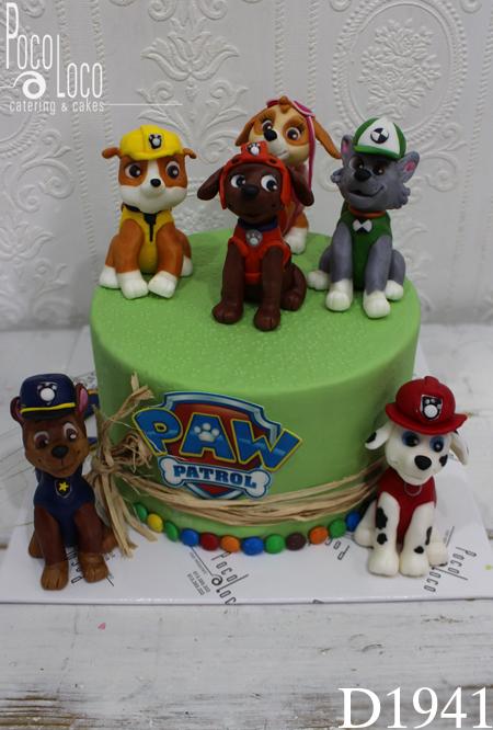 Torta Patrolne šape