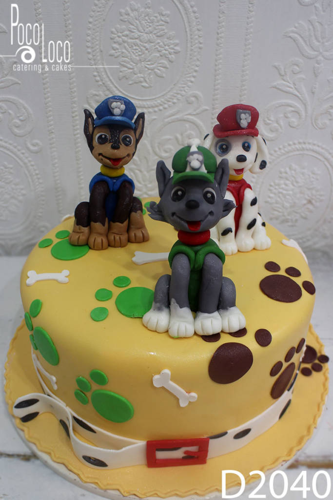 Paw patrol torta