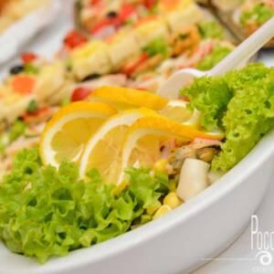 Vitaminska salata (posno)
