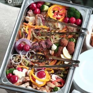 Poco loco toplo posluženje – meso u dišu