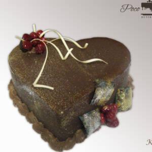Mini srce torta K432