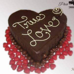 Čokoladna torta srce K493