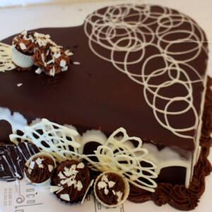 Torta srce K610