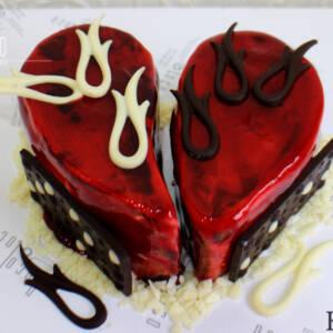 Torta u obliku srca K715