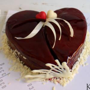 Torta u obliku srca K723