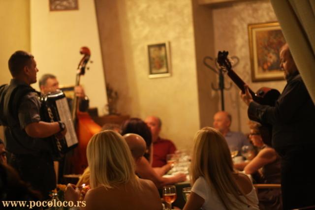 Muzika uživo restoran u Pančevu
