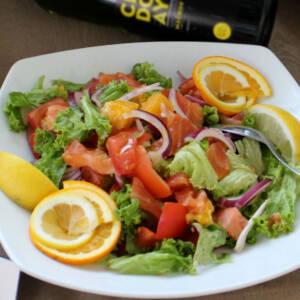 Losos salata (posno)