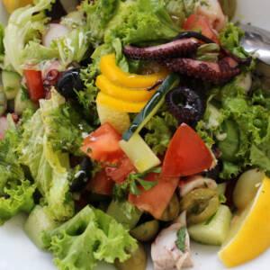 Salata od hobotnice (posno)