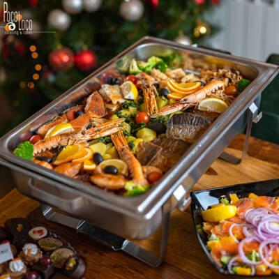Posno Poco loco Lux posluženje – riba i plodovi mora