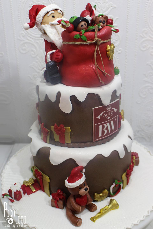 Torta za novogodišnju proslavu firme
