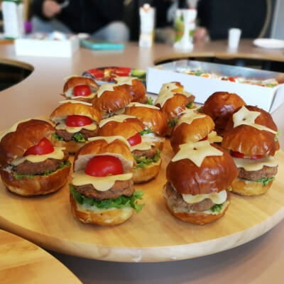 Mini hamburgeri za decu