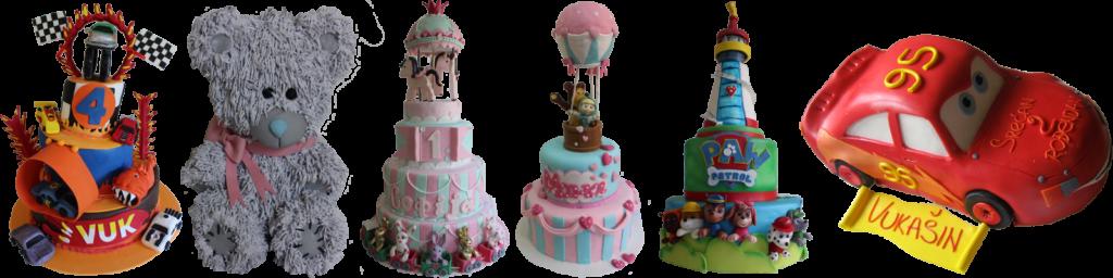 Oblik rođendanske torte