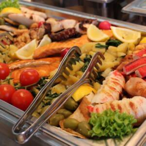 Posno Poco loco posluženje – riba i plodovi mora