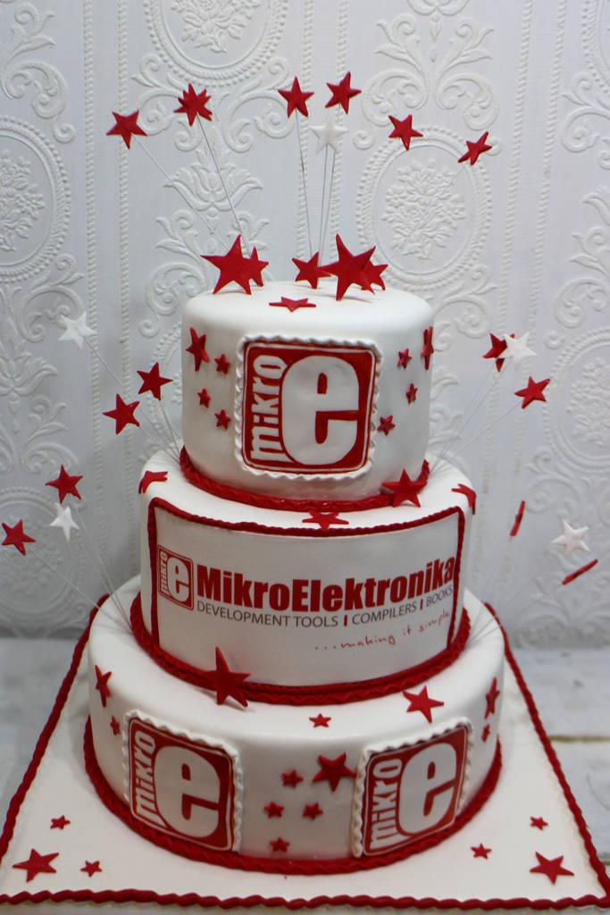 Logo firme na torti