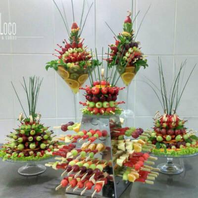 Aranžmani za sto od voća