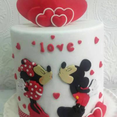 Miki i Mini torta