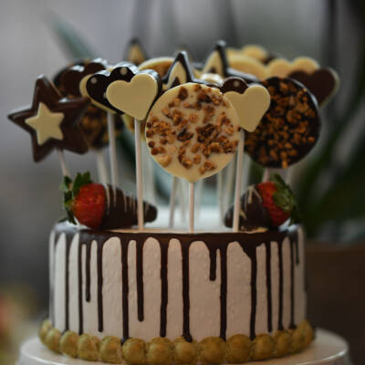 Čokoladni lolipops