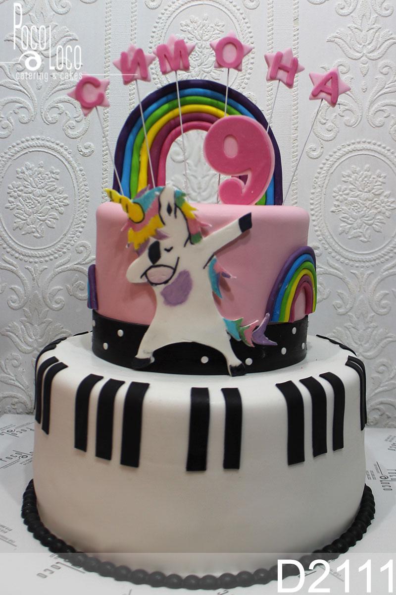 Unicorn Jednorog Torta Galerija Torti Za Rođendan