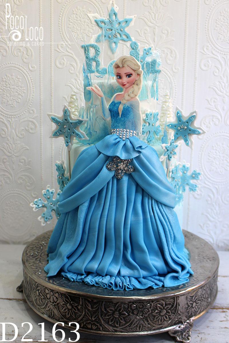 Frozen Torta Ana I Elza Galerija Torti Za Rođendan Ledeno