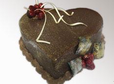Baron torta u obliku srca