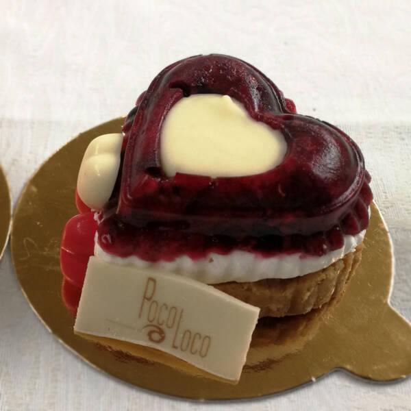 Cheesecake u obliku srca
