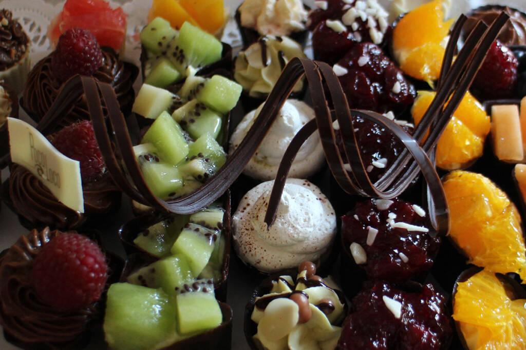 Posne čokoladne korpice